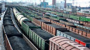 Потребление цемента железной дорогой в первом квартале 2018 года