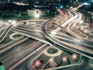 строительство дорожно-транспортной инфраструктуры