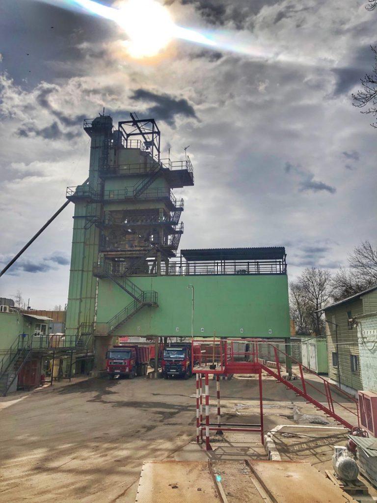 Запуск Асфальтобетонного завода на Дорожной улице!