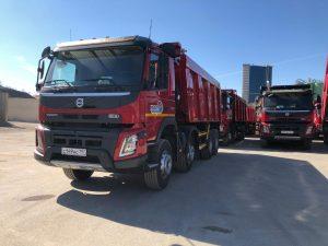 Сезон 2020 и 10 новых самосвалов Volvo FMX Truck 8x4