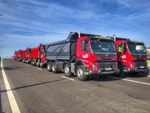 Самосвалы АБС ЦДС приняли участие в торжественном открытии автодороги Марьино-Саларьево
